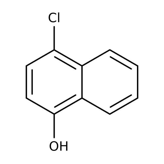 4-Chloro-1-naphthol, 97%, ACROS Organics™ 100g; Glass bottle 4-Chloro-1-naphthol, 97%, ACROS Organics™