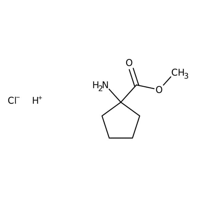 Methyl 1-Aminocyclopentanecarboxylate Hydrochloride 98.0+%, TCI America™