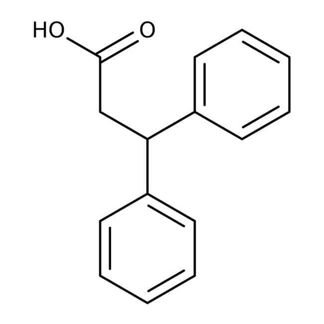3,3-Diphenylpropionic acid, 97%, ACROS Organics™