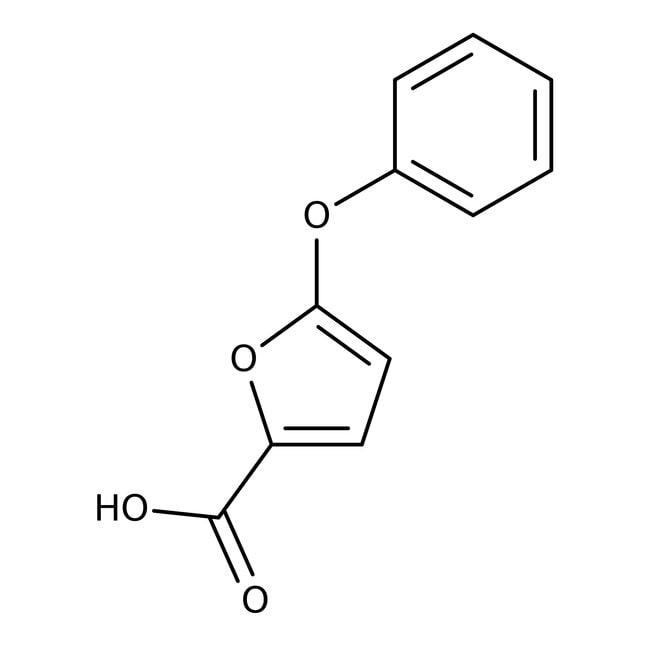 5-Phenoxy-2-furoic acid, ≥97%, Maybridge™ Amber Glass Bottle; 1g 5-Phenoxy-2-furoic acid, ≥97%, Maybridge™