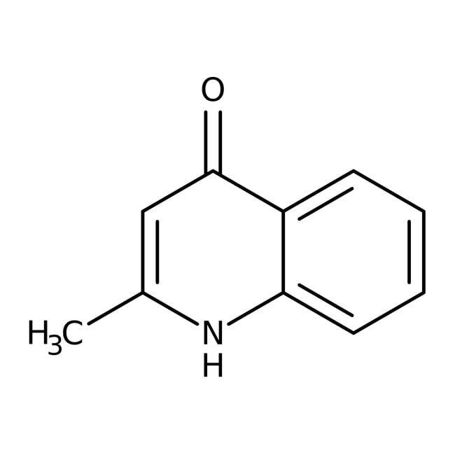 Alfa Aesar™4-Hydroxy-2-methylquinoline, 98+%: Chemicals Products