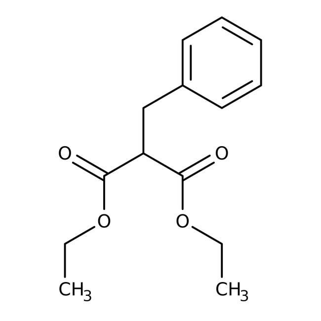 Alfa Aesar™Diethyl benzylmalonate, 97% 25g Alfa Aesar™Diethyl benzylmalonate, 97%