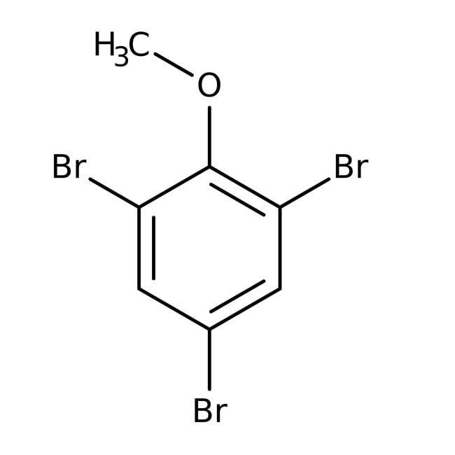 Alfa Aesar™2,4,6-Tribromoanisole, 99% 25g Alfa Aesar™2,4,6-Tribromoanisole, 99%