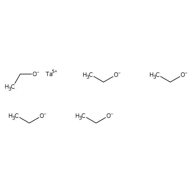 Alfa Aesar™Éthoxyde de tantale(V), qualité optique, 99,95% (pureté du métal) 1g Alfa Aesar™Éthoxyde de tantale(V), qualité optique, 99,95% (pureté du métal)