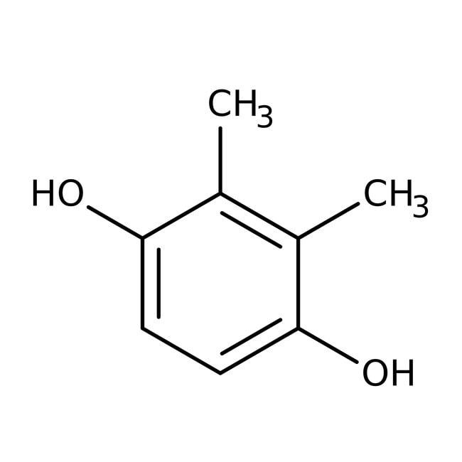 2,3-Dimethylhydroquinone, 97%, ACROS Organics™ Glass bottle; 25g 2,3-Dimethylhydroquinone, 97%, ACROS Organics™