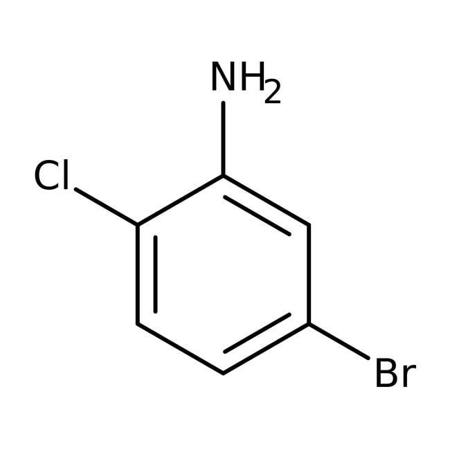 Alfa Aesar™5-Bromo-2-chloroaniline, 98% 100g Alfa Aesar™5-Bromo-2-chloroaniline, 98%