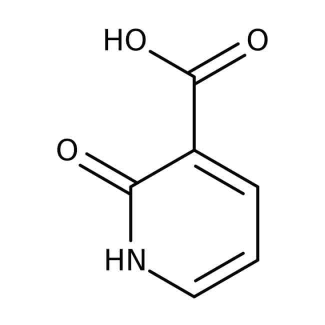 2-Hydroxynicotinic acid, 98%, ACROS Organics™ 25g; Glass bottle 2-Hydroxynicotinic acid, 98%, ACROS Organics™