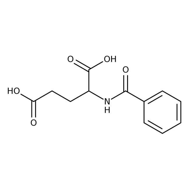 Alfa Aesar™Acide N-benzoyl-L-glutamique, 98% 25g Alfa Aesar™Acide N-benzoyl-L-glutamique, 98%