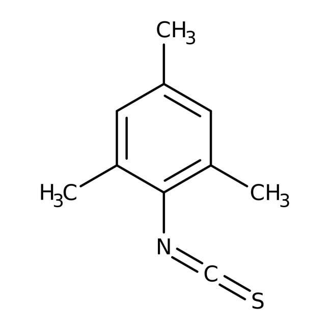 Alfa Aesar™2,4,6-Trimethylphenyl isothiocyanate, 96% 5g Alfa Aesar™2,4,6-Trimethylphenyl isothiocyanate, 96%