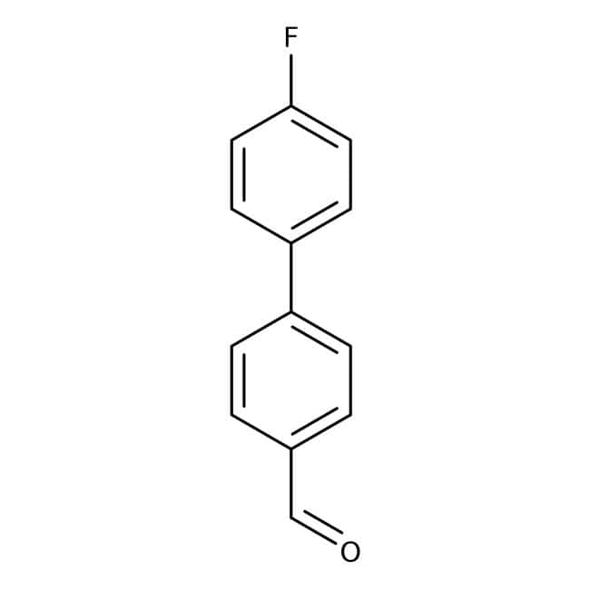 Alfa Aesar™ 4'-Fluorobiphenyl-4-carboxaldehyde, 96% 1g Alfa Aesar™ 4'-Fluorobiphenyl-4-carboxaldehyde, 96%