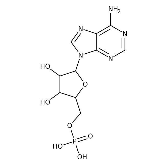 Adenosine 5'-monophosphate, 99%, ACROS Organics™