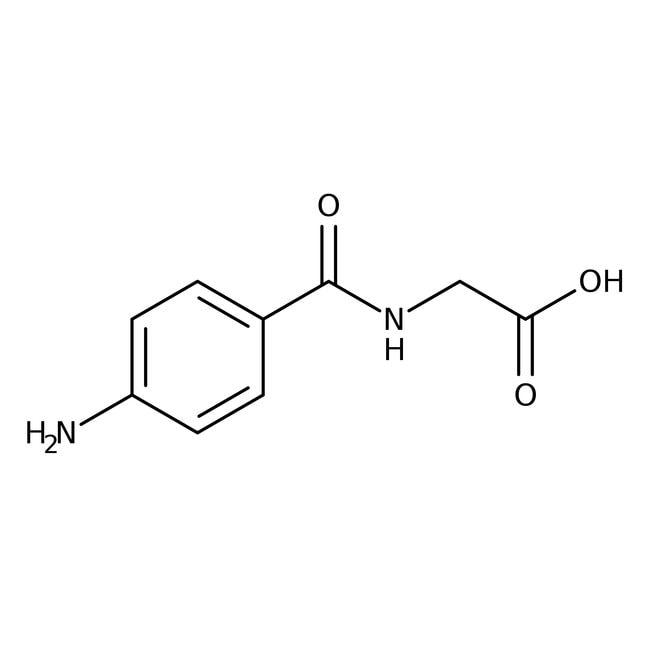 4-Aminohippuric acid, 99%, ACROS Organics™