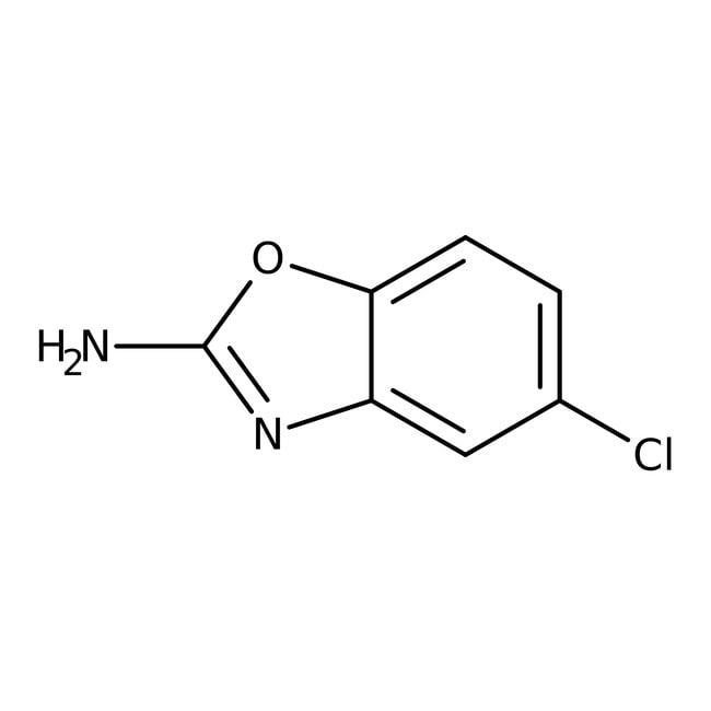 2-Amino-5-chlorbenzoxazol 97%, ACROS Organics™ 5g 2-Amino-5-chlorbenzoxazol 97%, ACROS Organics™