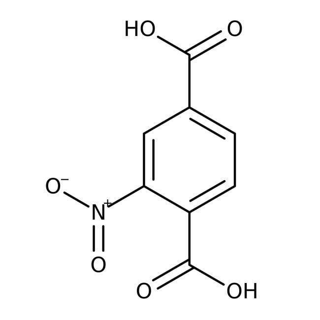 Nitroterephthalic acid, 99+%, ACROS Organics™ 25g Nitroterephthalic acid, 99+%, ACROS Organics™