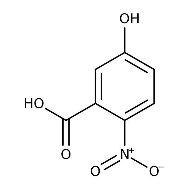 Alfa Aesar™Ácido 5-hidroxi-2-nitrobenzoico, 99% 10g Alfa Aesar™Ácido 5-hidroxi-2-nitrobenzoico, 99%