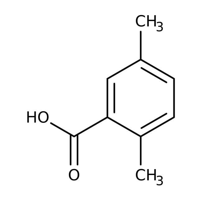 2,5-Dimethylbenzoic acid, 98%, ACROS Organics™