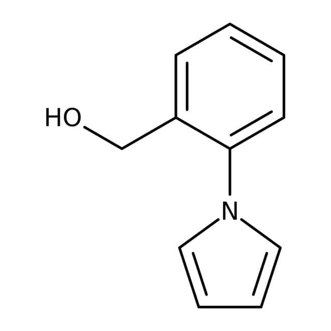 [2-(1H-Pyrrol-1-yl)phenyl]methanol, 97%, Maybridge Amber Glass Bottle; 250mg [2-(1H-Pyrrol-1-yl)phenyl]methanol, 97%, Maybridge