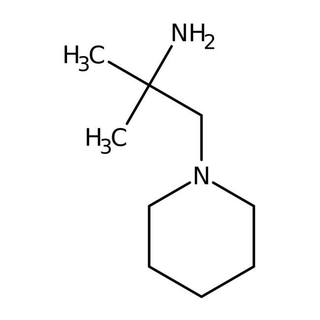 2-Methyl-1-piperidino-2-Propanamin, 97%, Maybridge Braunglasflasche, 1g 2-Methyl-1-piperidino-2-Propanamin, 97%, Maybridge