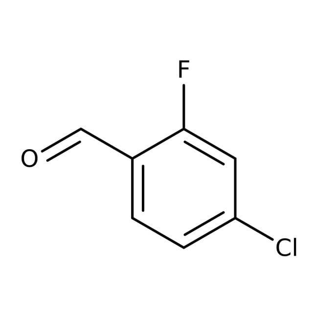 4-Chloro-2-fluorobenzaldehyde, 99%, ACROS Organics™
