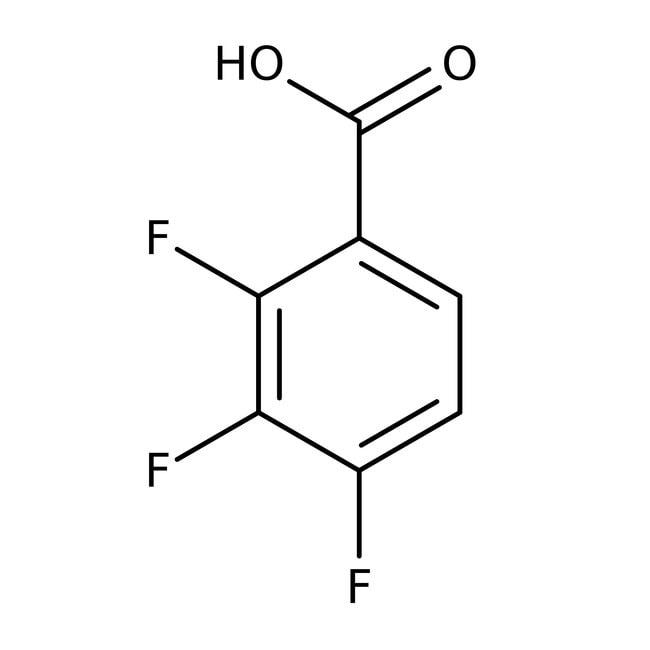 Alfa Aesar™Ácido 2,3,4-trifluorobenzoico, 98% 25g Alfa Aesar™Ácido 2,3,4-trifluorobenzoico, 98%