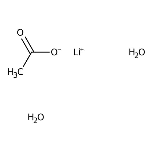 Lithium acetate dihydrate, 98%, for analysis, ACROS Organics™