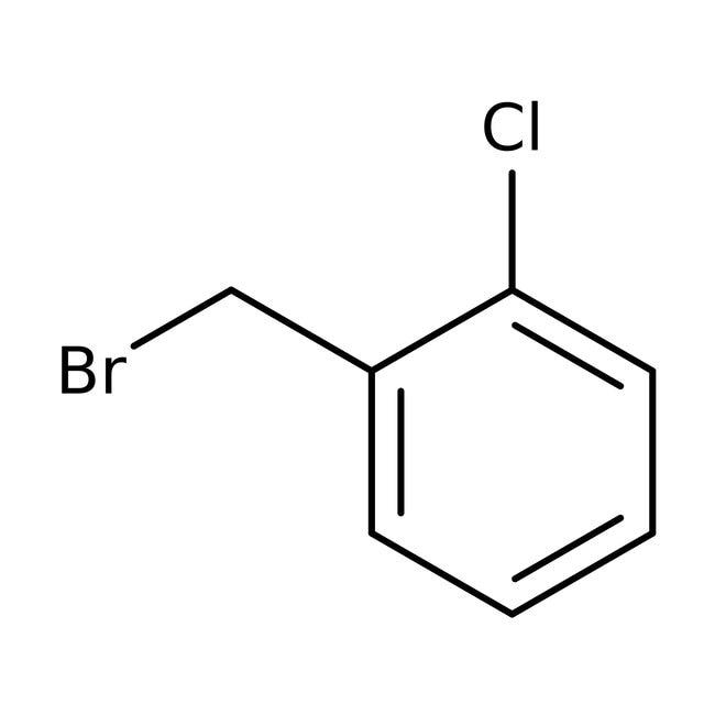 2-chlorobenzyl bromide, 97%, ACROS Organics™ 100g; Glass bottle 2-chlorobenzyl bromide, 97%, ACROS Organics™