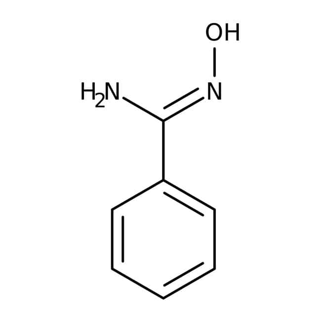 Benzamide oxime, 97%, Acros Organics™ 1g Benzamide oxime, 97%, Acros Organics™