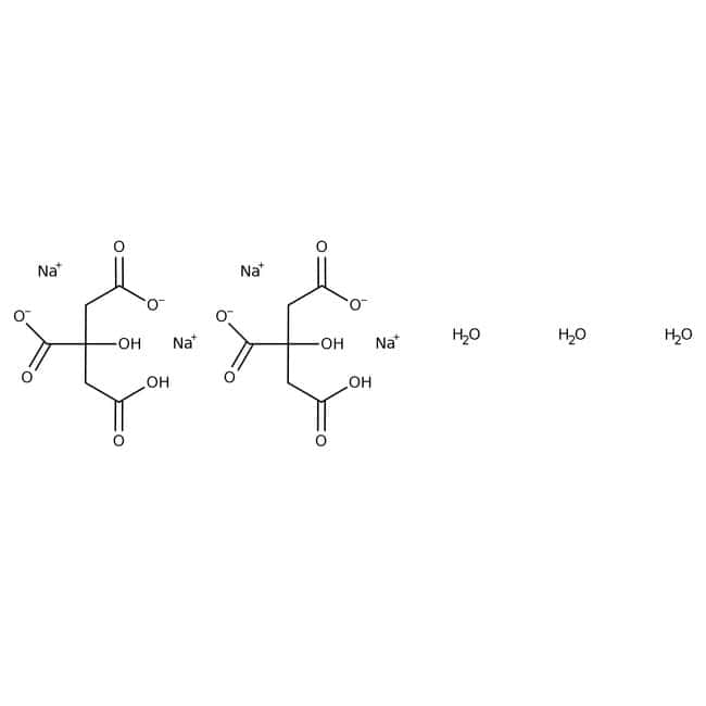 Citric acid, disodium salt sesquihydrate, 99%, pure, ACROS Organics™