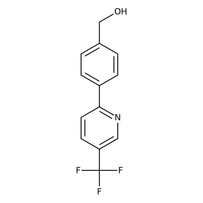 {4-[5-(Trifluoromethyl)pyrid-2-yl]phenyl}methanol, 97%, Maybridge™ Amber Glass Bottle; 1g {4-[5-(Trifluoromethyl)pyrid-2-yl]phenyl}methanol, 97%, Maybridge™