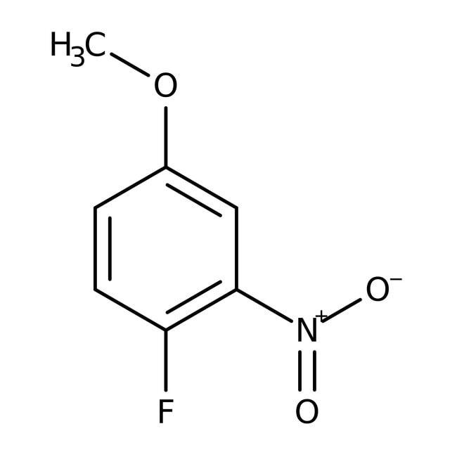 Alfa Aesar™4-Fluoro-3-nitroanisole, 95% 1g Alfa Aesar™4-Fluoro-3-nitroanisole, 95%