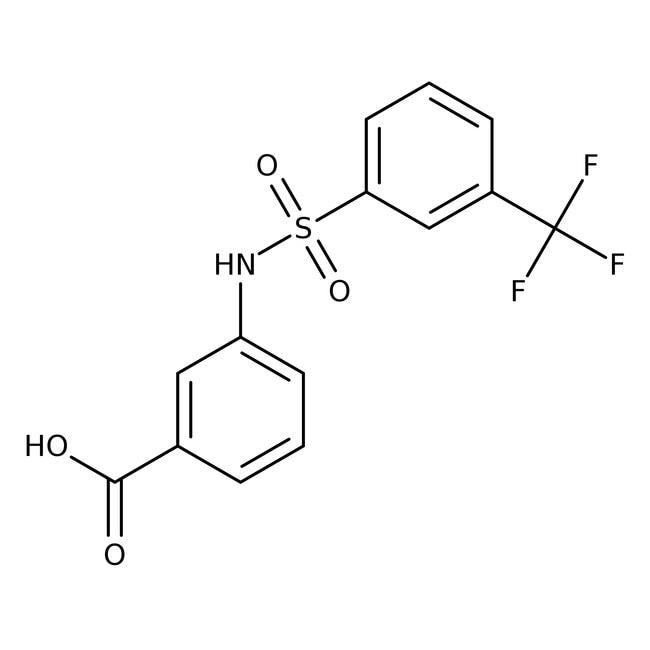 3-[3-(Trifluoromethyl)phenylsulfonamido]benzoic acid, 96%, Alfa Aesar™ 1g 3-[3-(Trifluoromethyl)phenylsulfonamido]benzoic acid, 96%, Alfa Aesar™