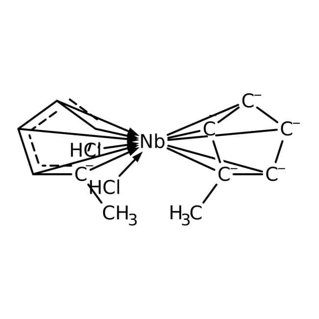 Alfa Aesar™Bis(methylcyclopentadienyl)niobium dichloride, 97%