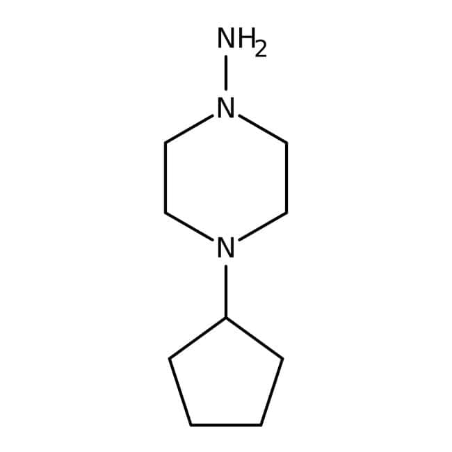 Alfa Aesar™1-Amino-4-cyclopentylpiperazine, 97%