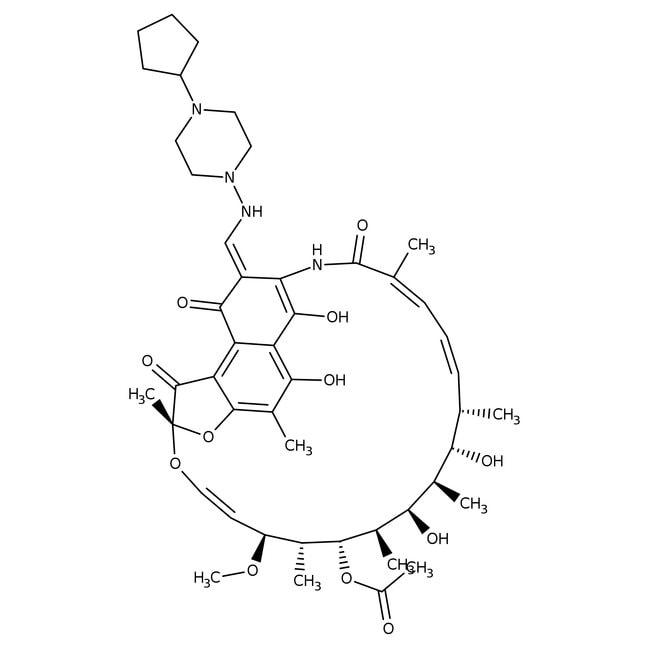 Rifapentin, 95 %, Acros Organics 100mg Produkte