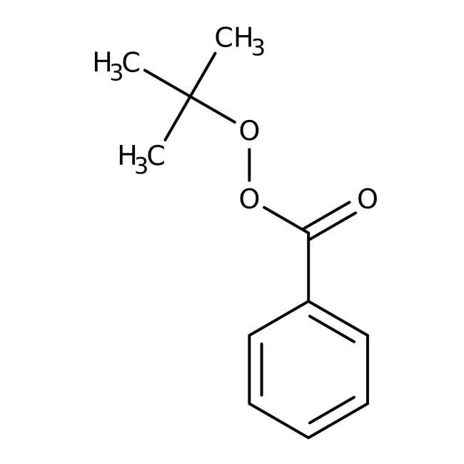 Alfa Aesar™Peroxibenzoato de terc-butilo, 98% 100g Alfa Aesar™Peroxibenzoato de terc-butilo, 98%