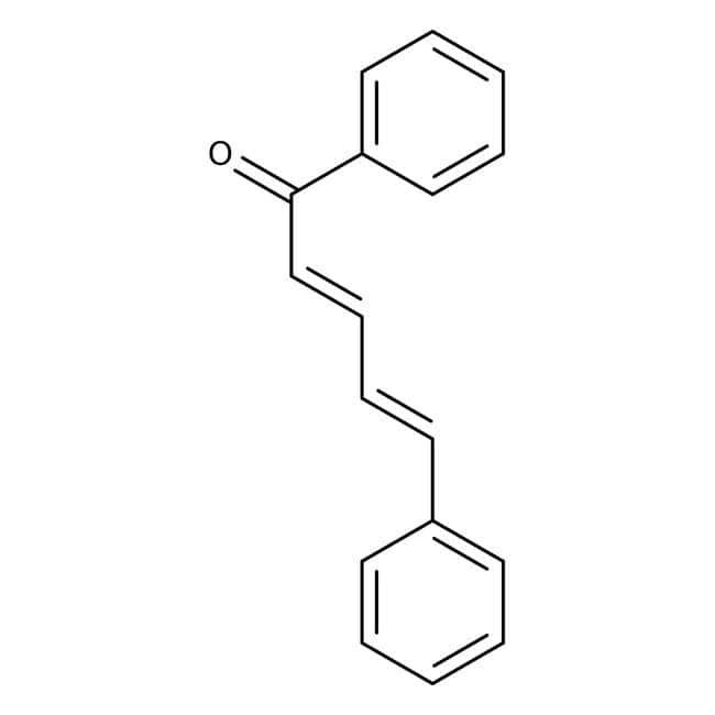 Alfa Aesar™Cinnamylideneacetophenone, 98+% 100g Alfa Aesar™Cinnamylideneacetophenone, 98+%