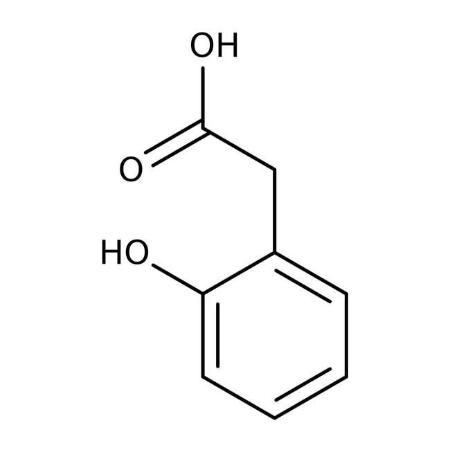 Alfa Aesar™Ácido 2-hidroxifenilacético, 98% 50g Alfa Aesar™Ácido 2-hidroxifenilacético, 98%