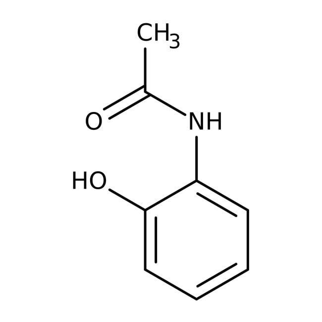 2-Acetamidophenol, 97%, ACROS Organics™ 25g; Plastic bottle 2-Acetamidophenol, 97%, ACROS Organics™