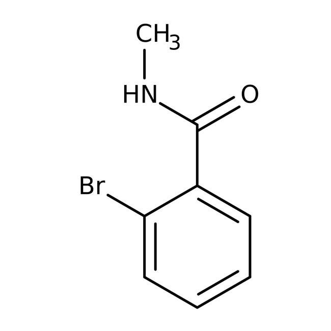 Alfa Aesar™2-Bromo-N-methylbenzamide, 99%: Halobenzoic acids and derivatives Benzoic acids and derivatives
