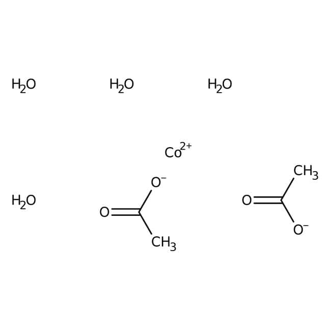 Cobalt(II) acetate tetrahydrate, 98+%, ACROS Organics™