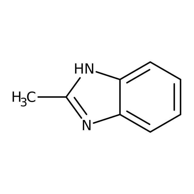 2-Methylbenzimidazole, 98%, Acros Organics 100g; Glass bottle 2-Methylbenzimidazole, 98%, Acros Organics