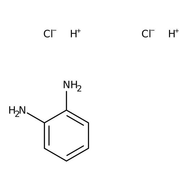 o-Phenylenediamine dihydrochloride, 99+%, ACROS Organics™ 100g; Glass bottle o-Phenylenediamine dihydrochloride, 99+%, ACROS Organics™