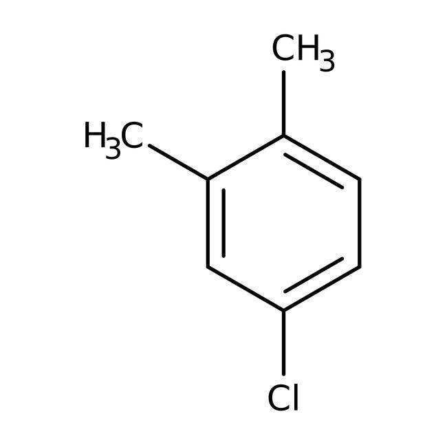 4-Chloro-o-xylene, 98%, Acros Organics 5mL; Glass bottle 4-Chloro-o-xylene, 98%, Acros Organics