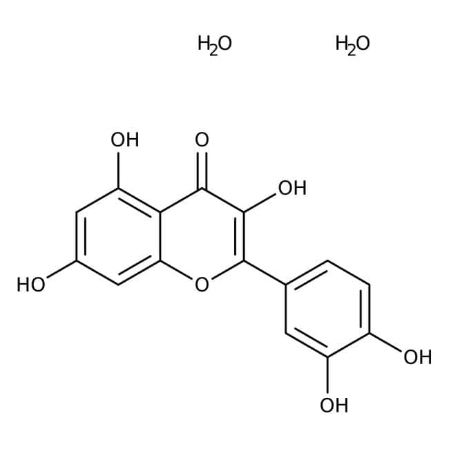 Quercetin dihydrate, 97%, Alfa Aesar