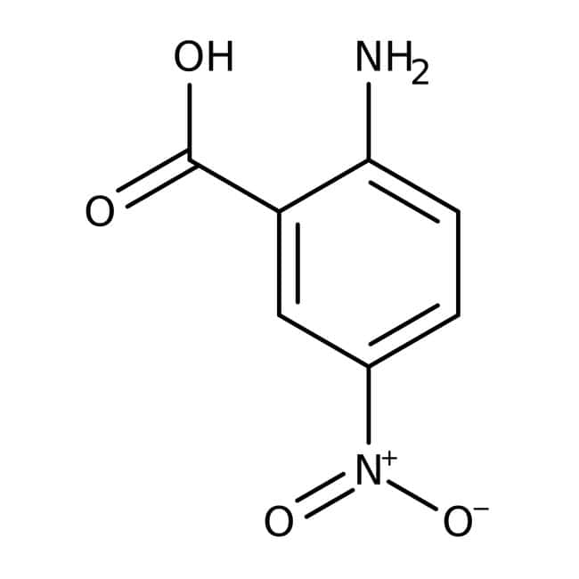2-Amino-5-nitrobenzoic acid, 98%, ACROS Organics™