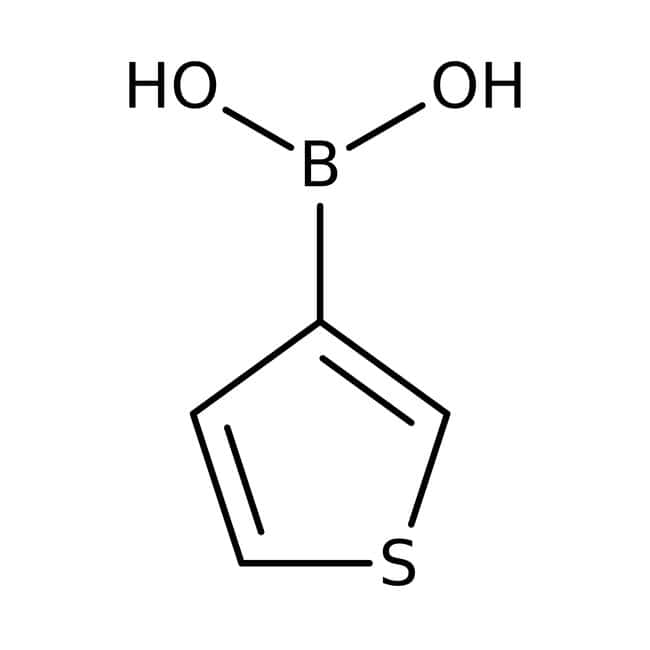 3-Thiopheneboronic acid, 97%, ACROS Organics™: Organoheterocyclic compounds Organic Compounds