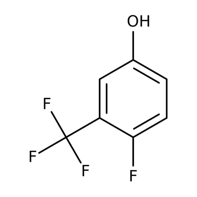Alfa Aesar™4-Fluoro-3-(trifluorometil)fenol, 97% 5g Alfa Aesar™4-Fluoro-3-(trifluorometil)fenol, 97%