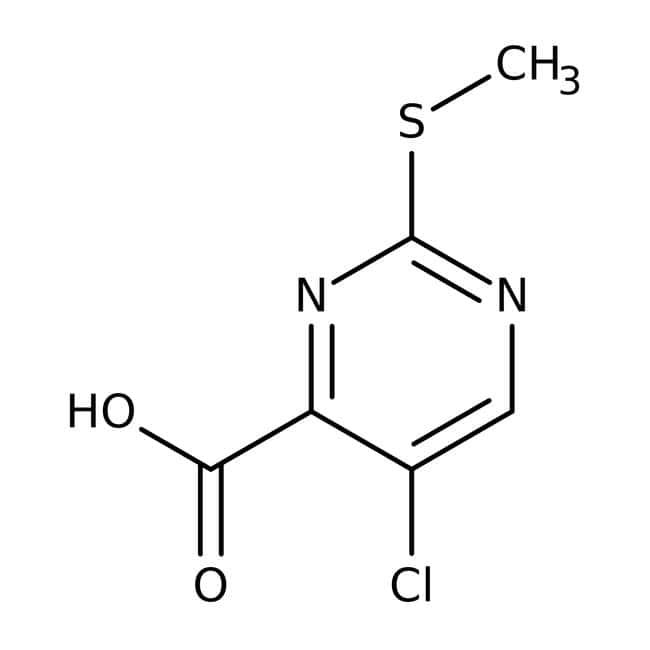 5-chloro-2-(methylthio)pyrimidine-4-carboxylic acid, 97%, Maybridge