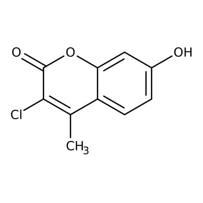 3-chloro-4-methyl-7-hydroxycoumarin, 97%, ACROS Organics™: Hydroxycoumarins Coumarins and derivatives