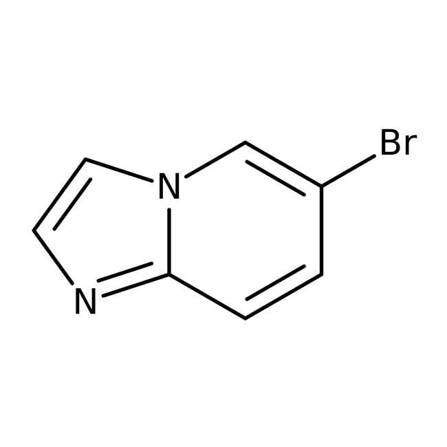 6-Bromimidazo-[1,2-a]-pyridin, 98%, Alfa Aesar™ 5g 6-Bromimidazo-[1,2-a]-pyridin, 98%, Alfa Aesar™